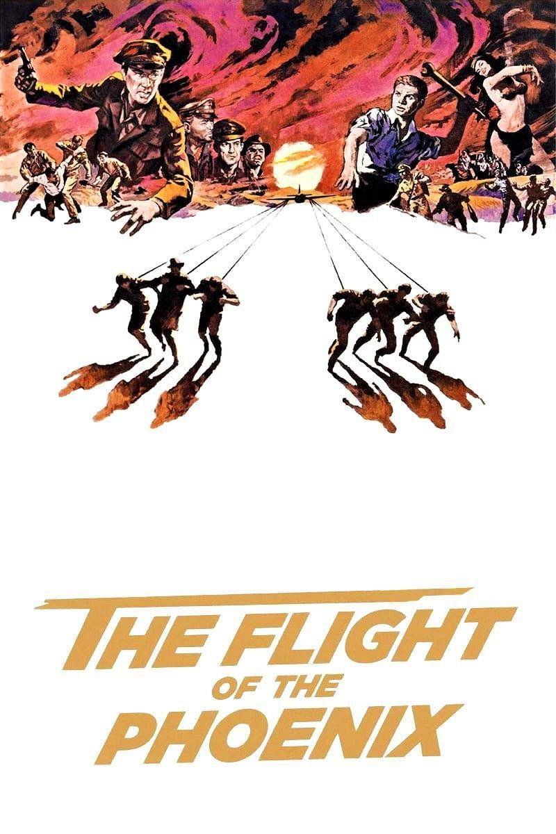 دانلود فیلم The Flight Of The Phoenix 1965