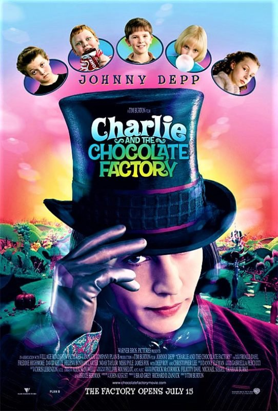 دانلود فیلم Charlie and the Chocolate Factory 2005