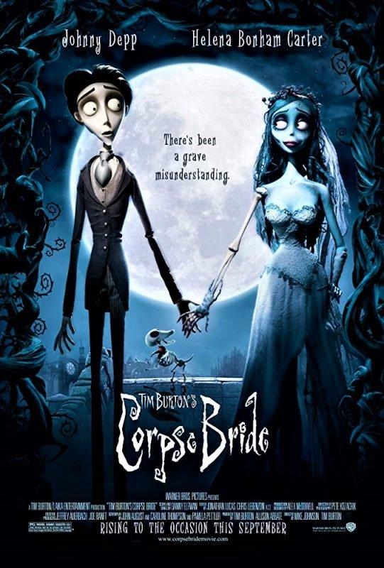 دانلود انیمیشن Corpse Bride 2005