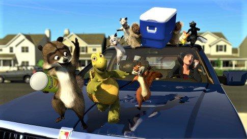 دانلود انیمیشن Over the Hedge 2006 با دوبله فارسی