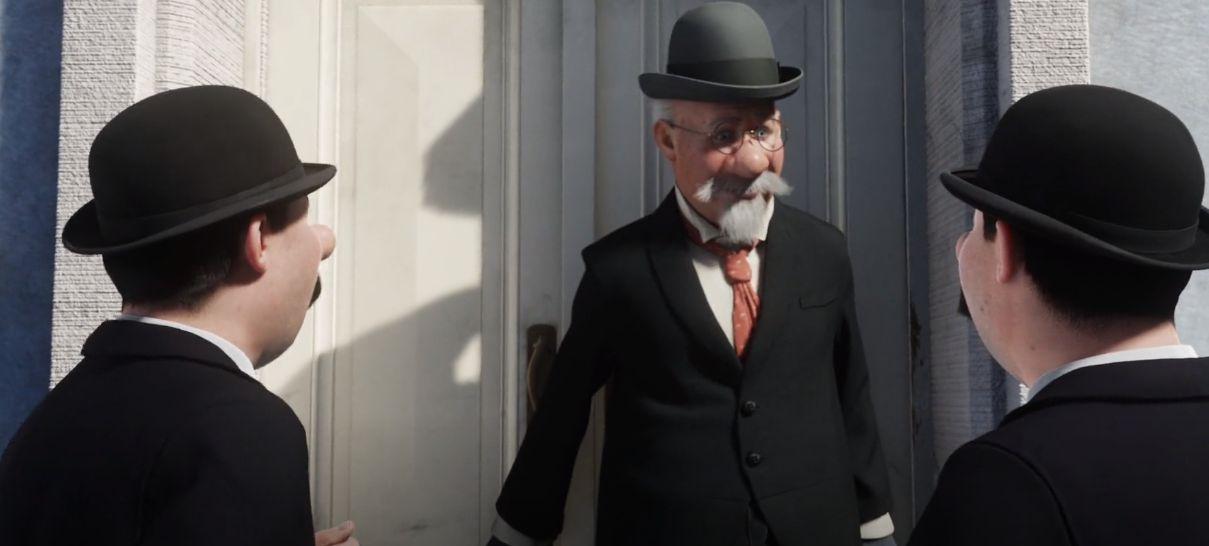 دانلود انیمیشن The Adventures of Tintin 2011 با دوبله فارسی