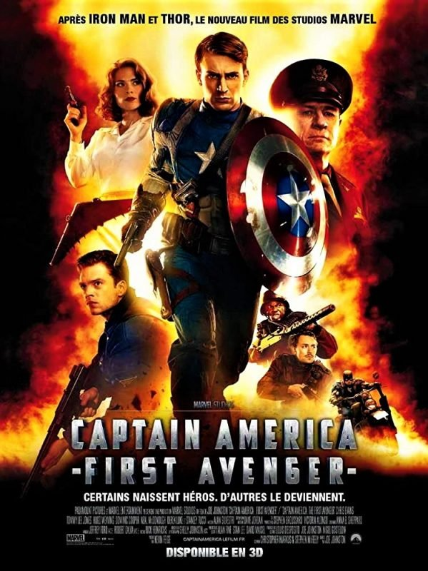دانلود فیلم Captain America: The First Avenger 2011